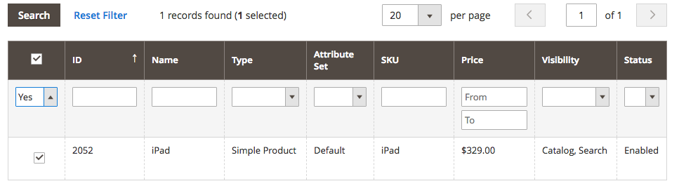 Mageworx Option Template Settings
