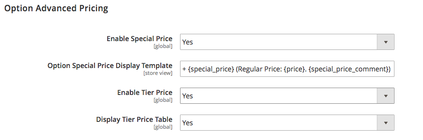 Advanced Pricing APO