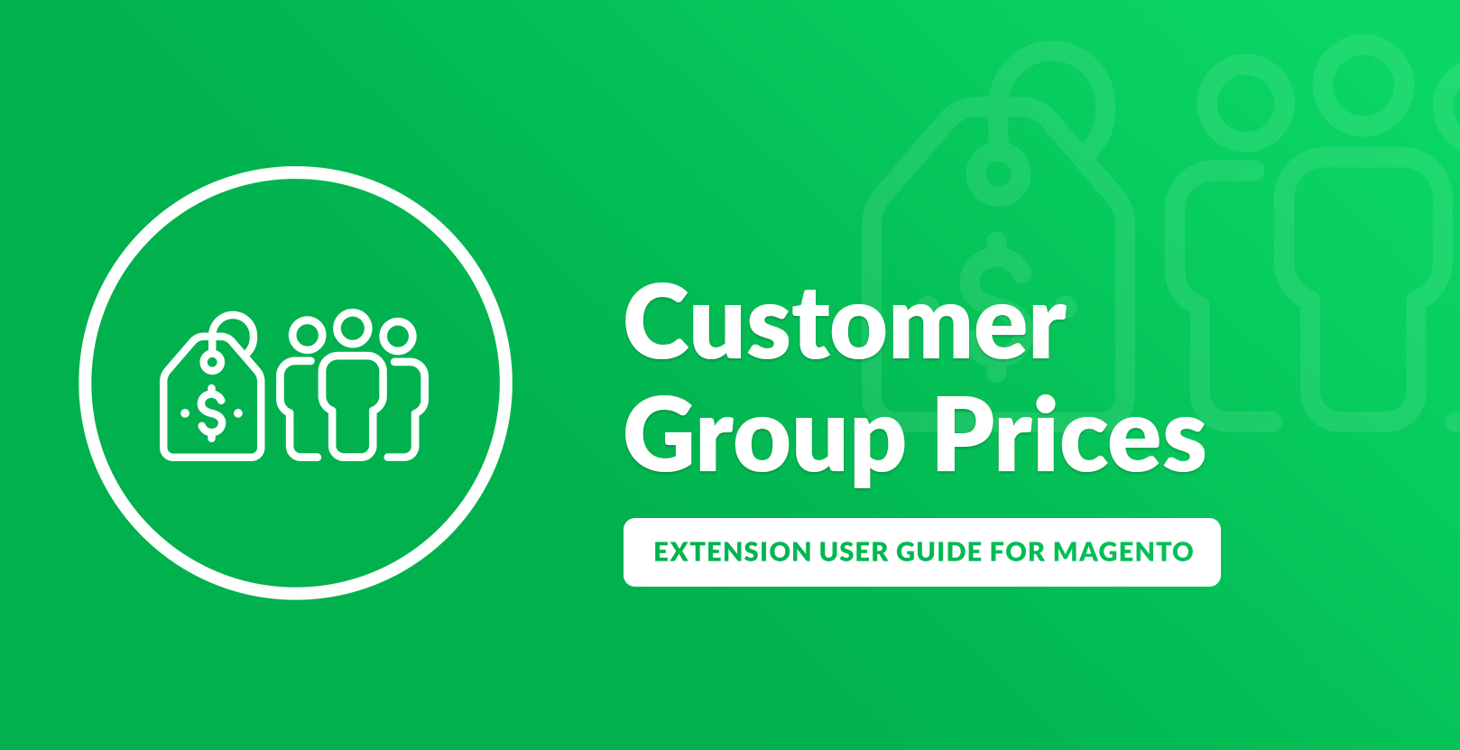 Customer Group Prices