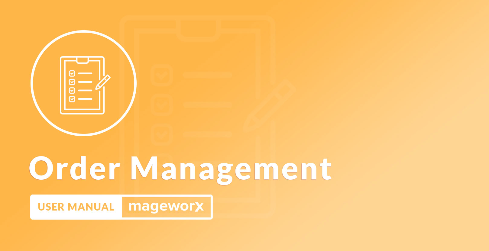 order Management Cover