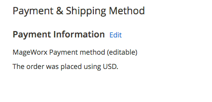 Magento 2 Order Management Order Modification Shipping