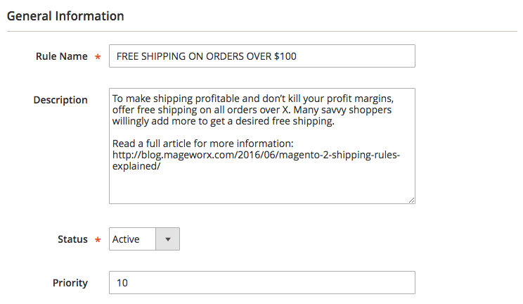 Mageworx Shipping Rules
