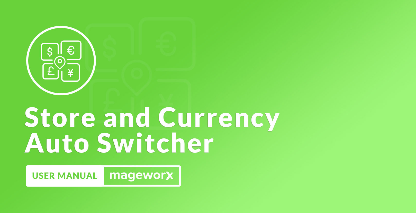 Store and Currency Auto Switcher Cover